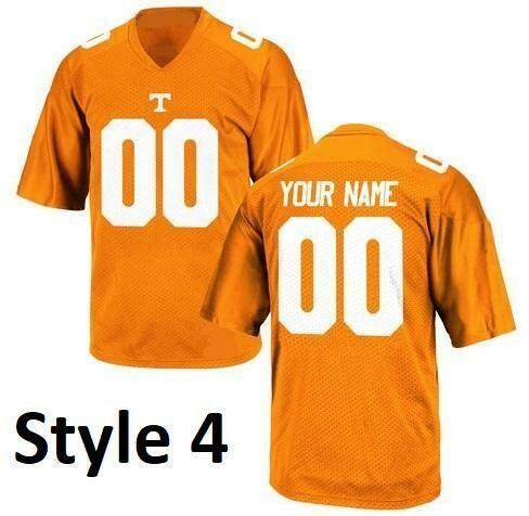 Tennessee Volunteers Style Customizable Football Jersey Style 4