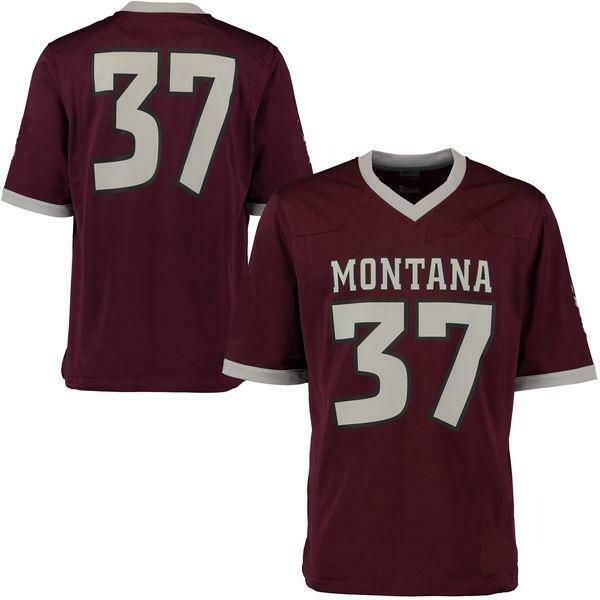 Montana Grizzlies Customizable College Football Jersey