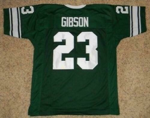 Michigan State Spartans Throwback Style Customizable Football Jersey Style 1