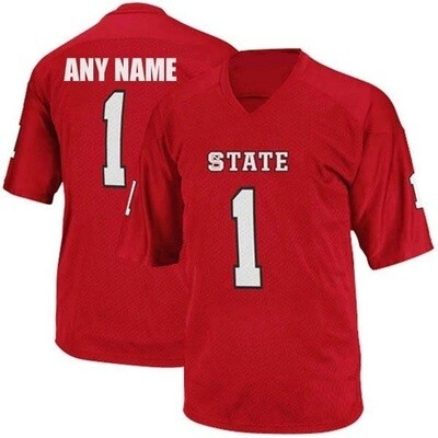 NC State Wolfpack Customizable College Football Jersey