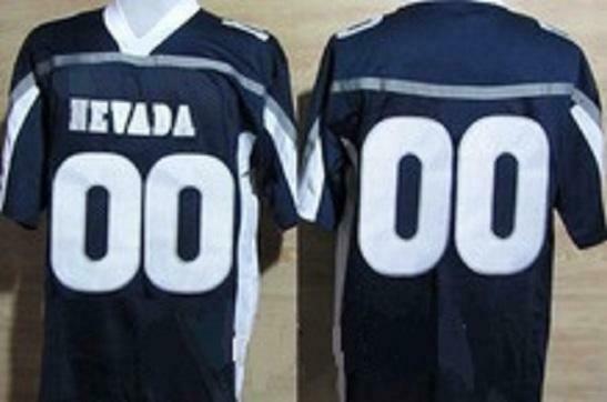 Nevada Wolf Pack Customizable Football Jersey Style 2
