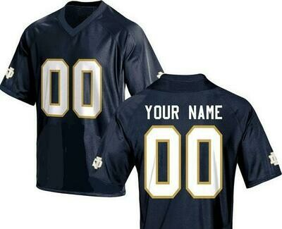 Notre Dame Fighting Irish Customizable College Jersey Style 1