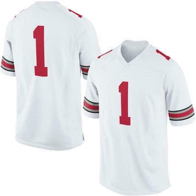 Ohio State Buckeyes Customizable College Football Jersey Style 2