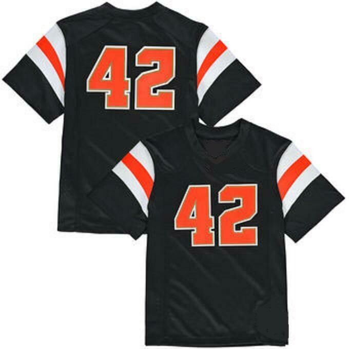 Oregon State Beavers Customizable Football Jersey Style 1