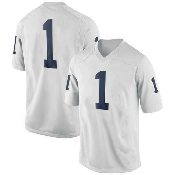 Penn State Nittany Lions Style Customizable Football Jersey Style 2