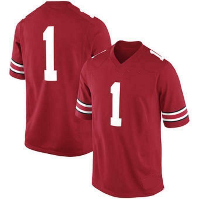 Ohio State Buckeyes Customizable College Football Jersey Style 3
