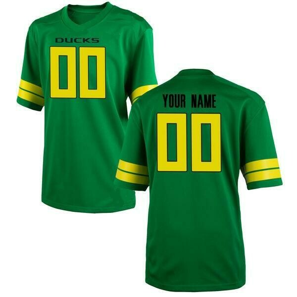 Oregon Ducks Customizable College Football Jersey