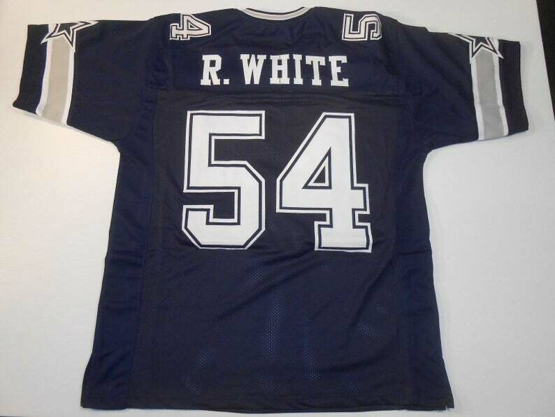 Randy White UNSIGNED CUSTOM Made Blue Jersey