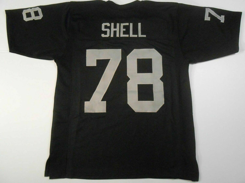 Art Shell UNSIGNED CUSTOM Black Jersey