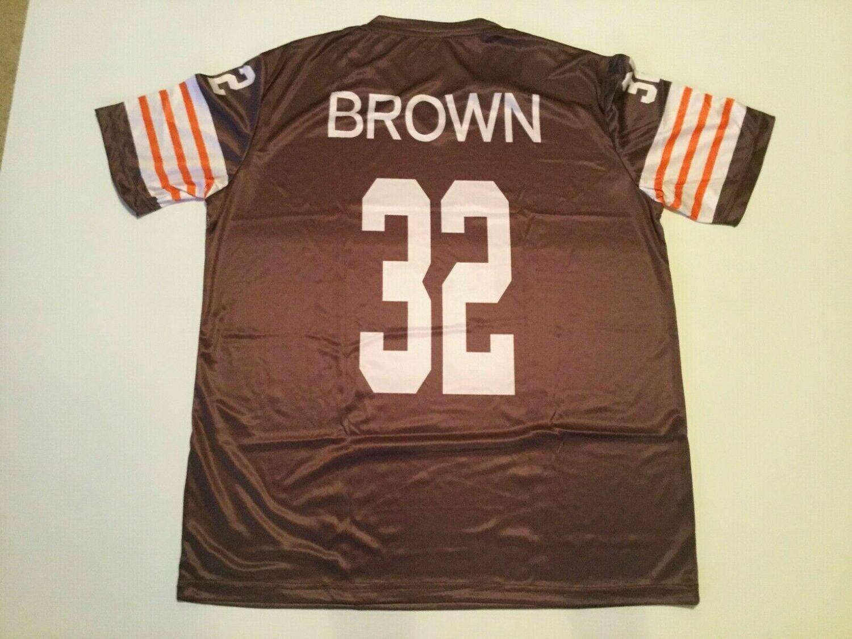 Jim Brown Interlock Sublimation Shirt