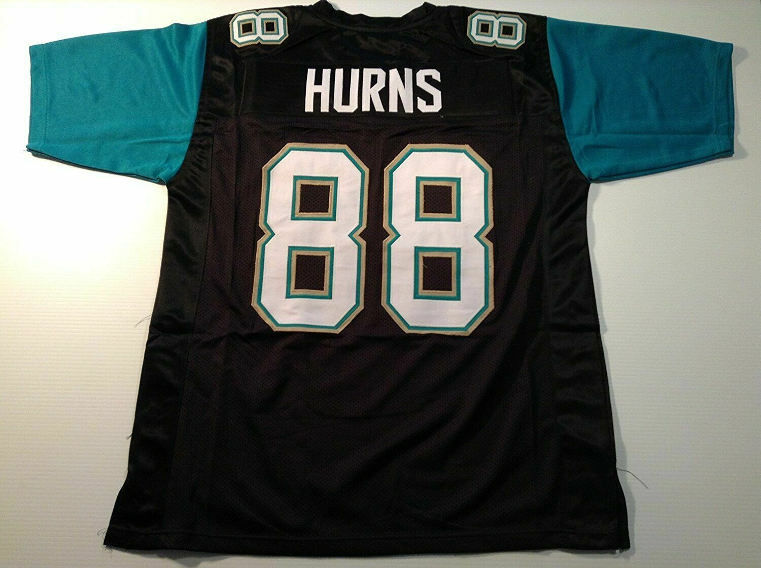 Unsigned Custom Sewn Stitched Allen Hurns Black Jersey