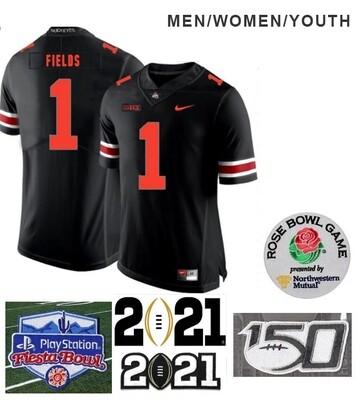 Ohio State Buckeyes #1 Justin Fields College NCAA Football Jersey