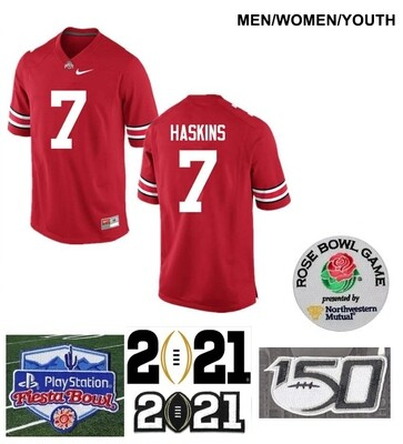 Ohio State Buckeyes #7 Dwayne Haskins College Football Jersey Red