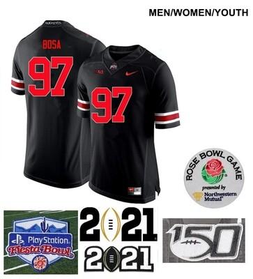 Ohio State Buckeyes #97 Joey Bosa Limited Football Black Jersey