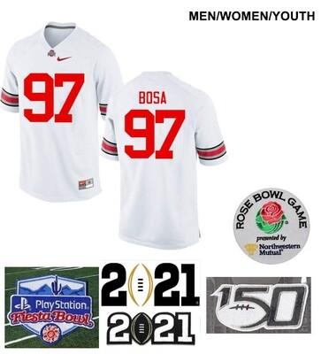 Ohio State Buckeyes #97 Joey Bosa Limited Football Jersey White