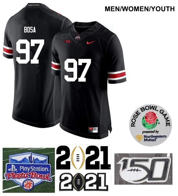 Ohio State Buckeyes #97 Joey Bosa Limited Football Jersey Black