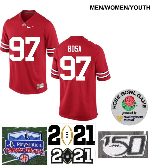 Ohio State Buckeyes #97 Joey Bosa Limited Football Jersey Red