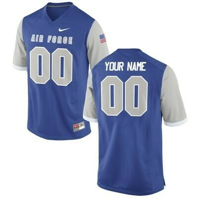 Air Force Falcons Custom Name and Number Football Jersey