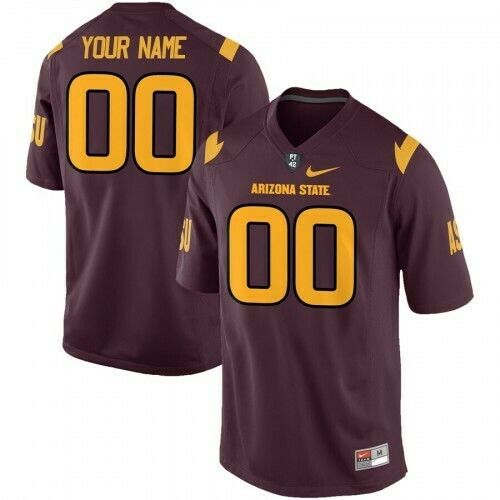 Arizona State Sun Devils Custom Name and Number Jersey Scarlet