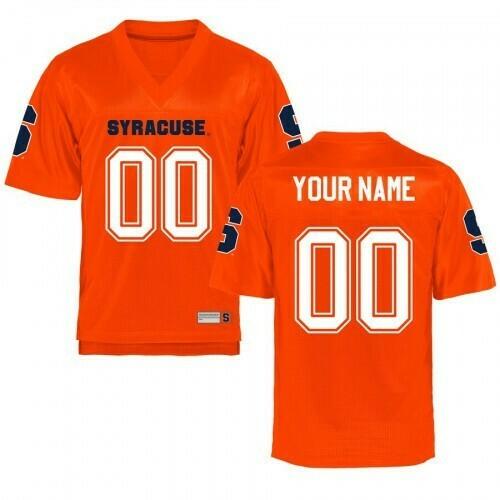 Syracuse Orange Custom Name Number Jersey NCAA Orange