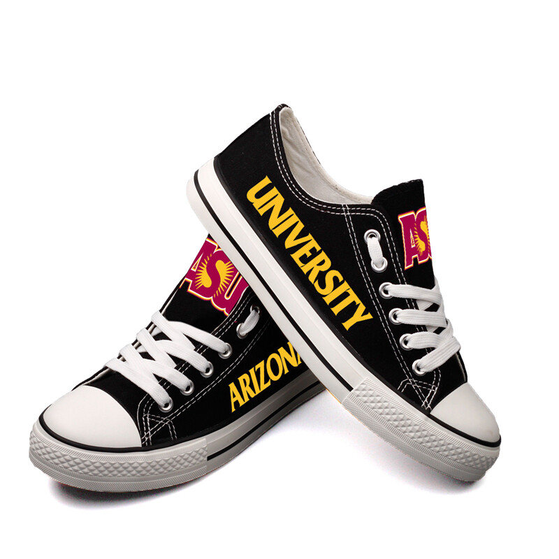 Arizona State Sun Devils NCAA College Canvas Shoes Sport Sneakers 2