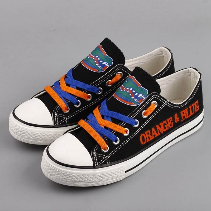 Florida Gators Print NCAA College Canvas Shoes Sport Sneakers 2