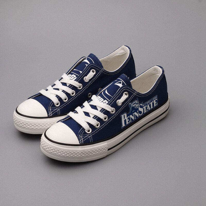 Penn State Nittany Lions NCAA College Canvas Shoes Sport Sneakers