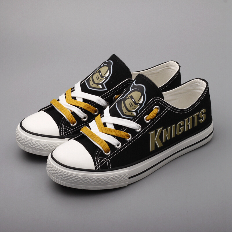 UCF Knights Limited Print NCAA College Canvas Shoes Sport Sneakers