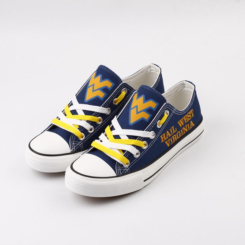West Virginia Mountaineers NCAA College Shoes Sport Sneakers 2