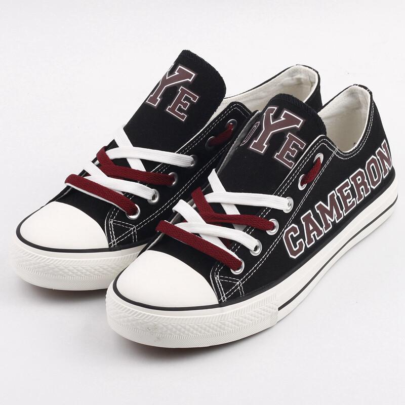 Cameron Yoemen Print High School Canvas Shoes Sport Sneakers
