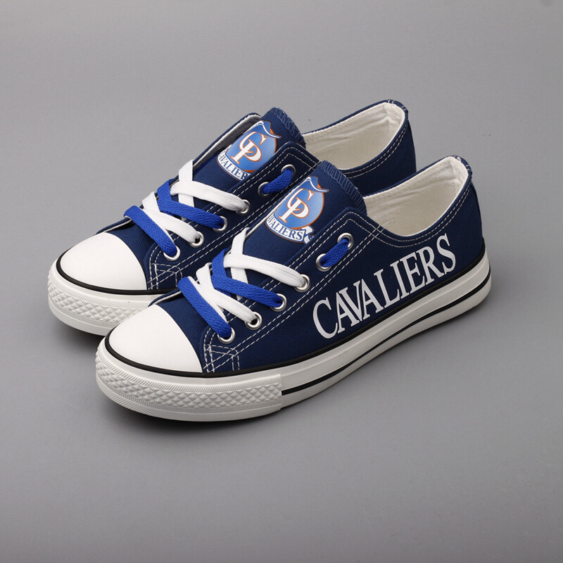 Cavaliers Limited Print High School Canvas Shoes Sport Sneakers