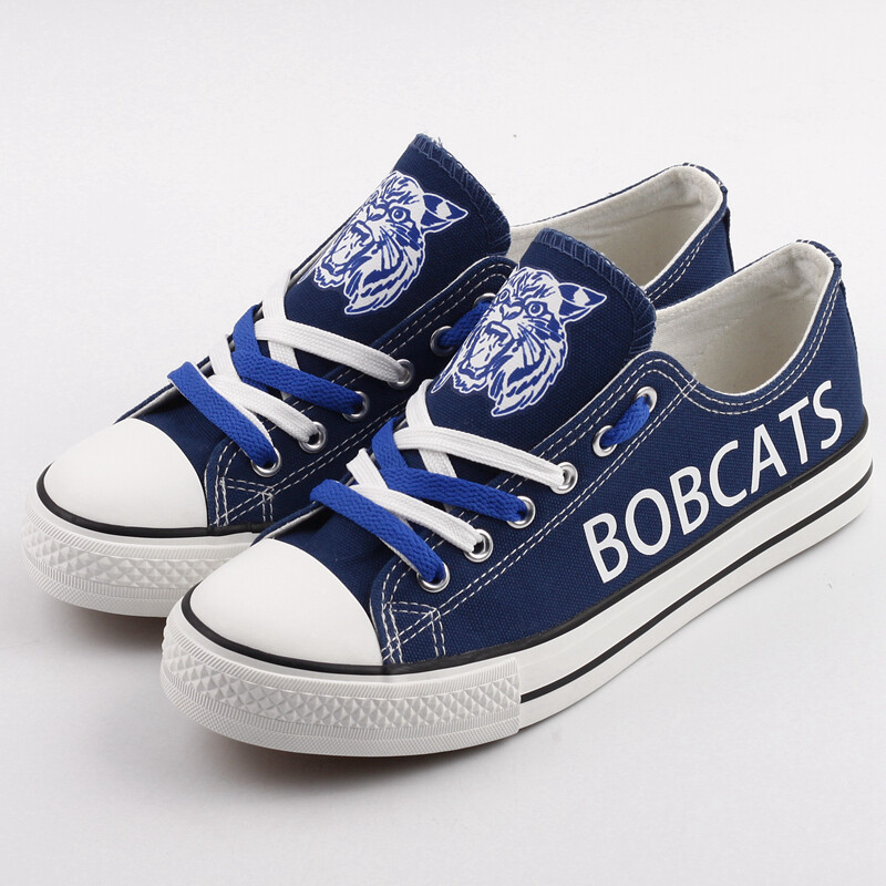 Hinsdale Bobcats Print High School Canvas Shoes Sport Sneakers