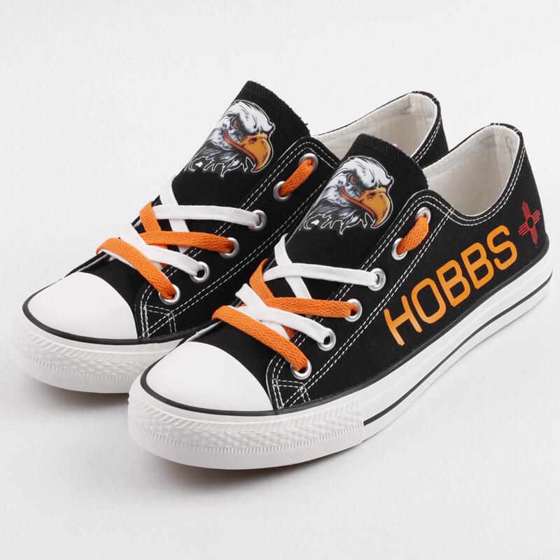 Hobbs Eagles Print High School Canvas Shoes Sport Sneakers
