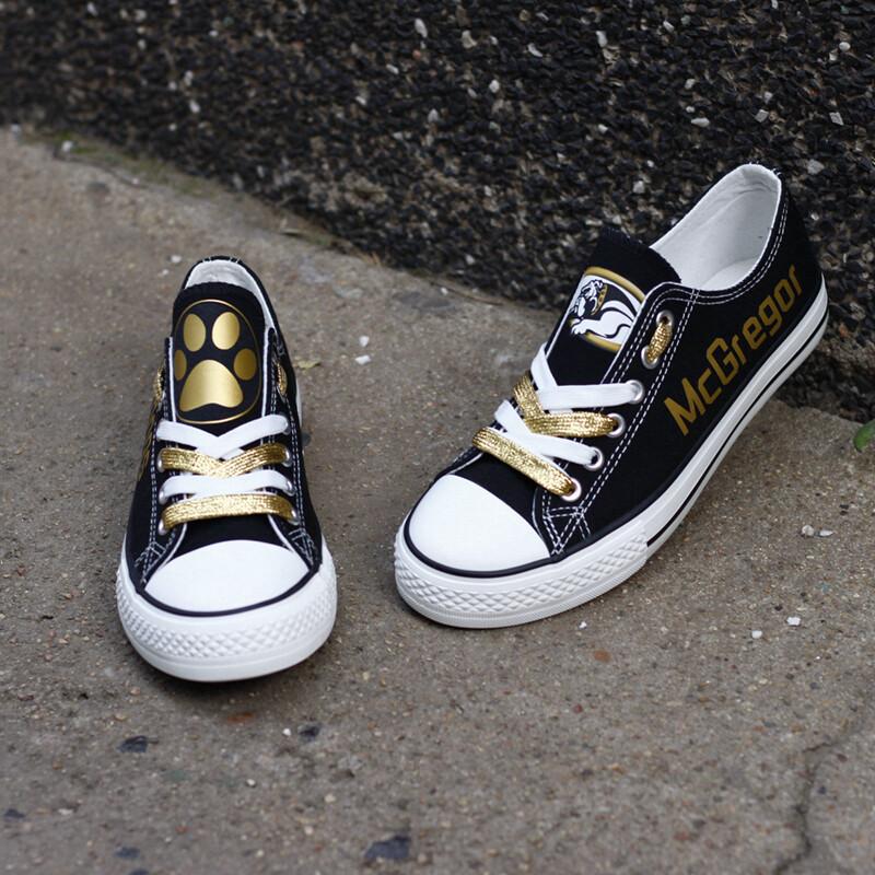 McGregor Bulldogs Print High School Canvas Shoes Sport Sneakers