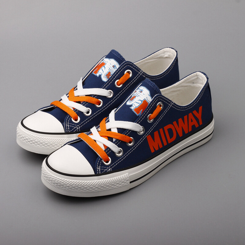 Midway Panthers Print High School Canvas Shoes Sport Sneakers
