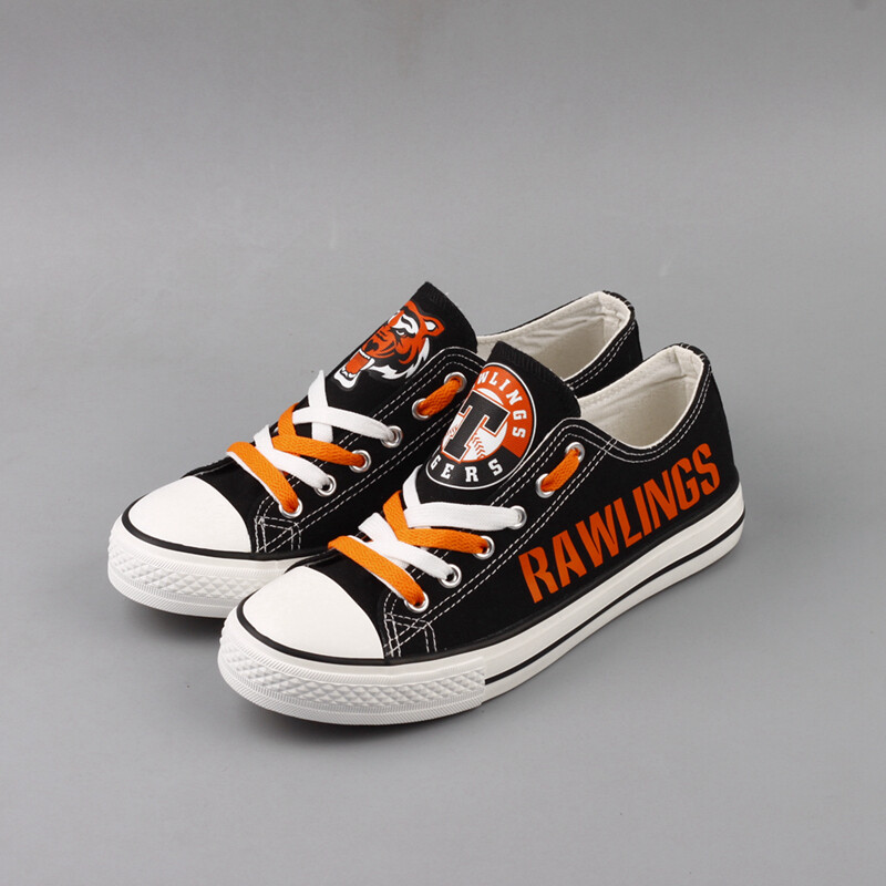 Rawlings Tigers Print High School Canvas Shoes Sport Sneakers