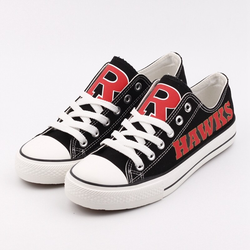 Rossview Hawks Print High School Canvas Shoes Sport Sneakers