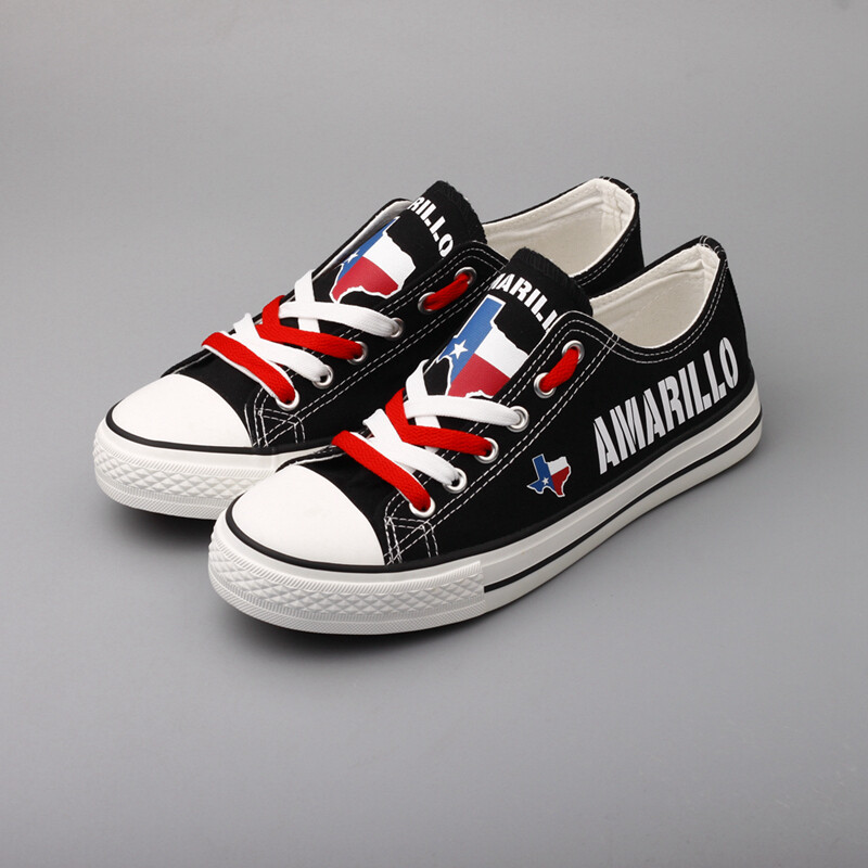 Custom America Shoes Texas State Amarillo City Design Sport Sneakers