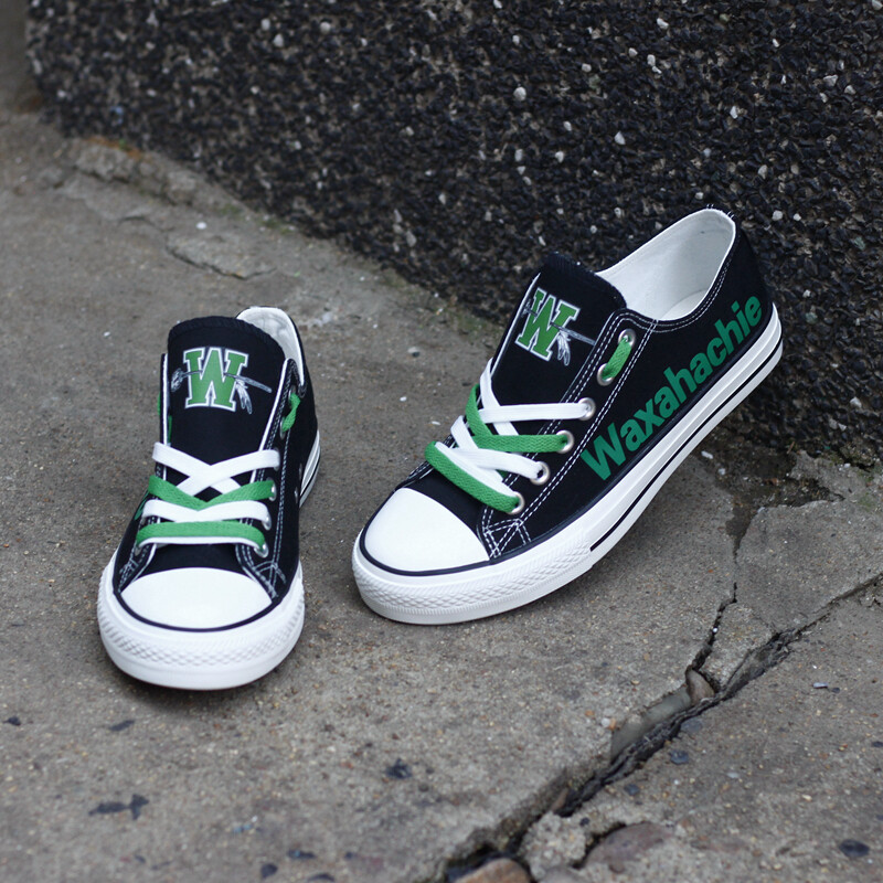 Waxahachie Indians Print High School Canvas Shoes Sport Sneakers