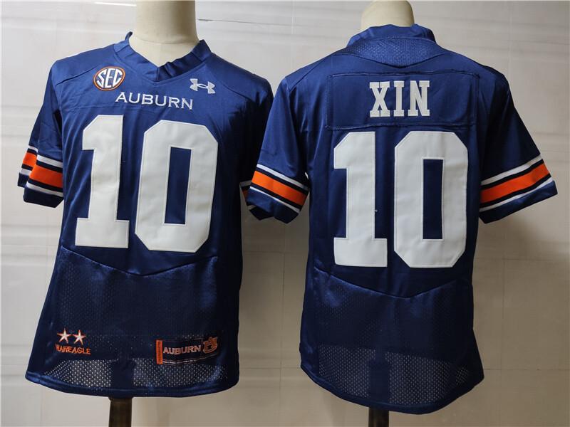 Auburn Tigers #10 XIN College Football Jersey