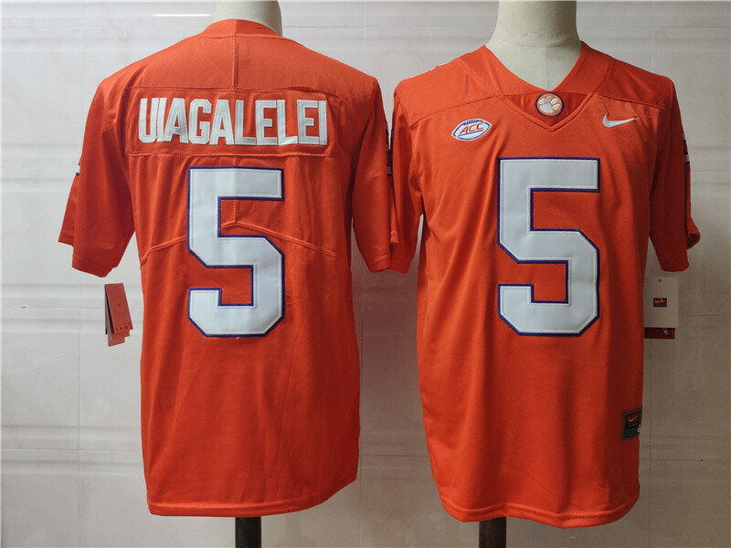 Clemson Tigers #5 Uiagalelei College Football Jersey Stitched