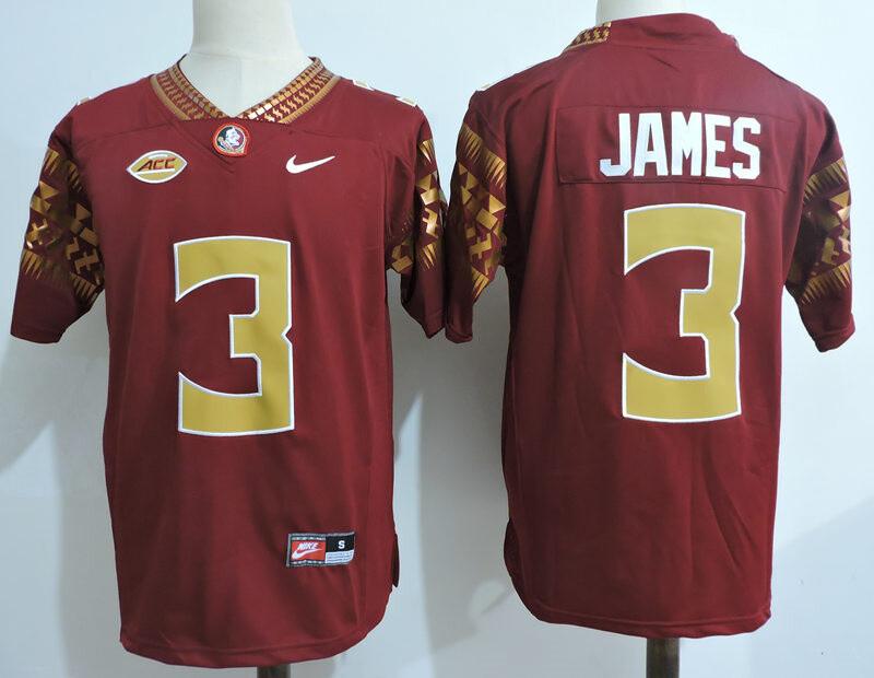 Florida State Seminoles #3  Derwin James College Football Jersey