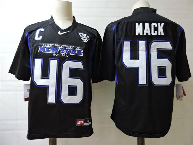 New York Buffalo #46 Mack College Football Jersey