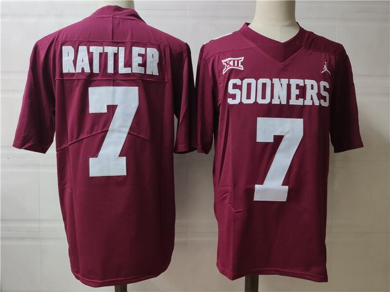 Oklahoma Sooners #7 Sooners College Football Jersey