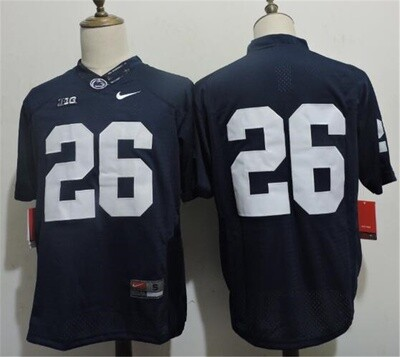 Penn State Nittany Lions #26 No Name Stitched College Football Jersey