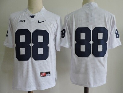 Penn State Nittany Lions #88 No Name College Football Jersey White