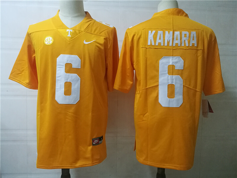 Tennessee Volunteers #6 Alvin Kamara College Football Jersey