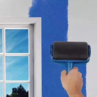 Multifunction DIY Paint Roller Brush Handle Tool