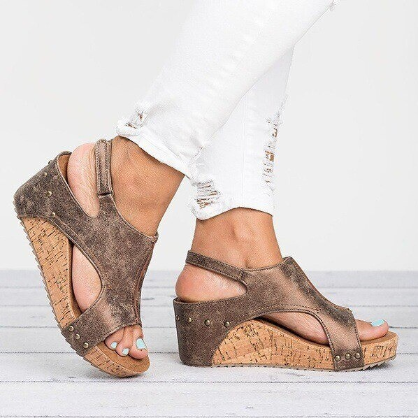 Premium Comfy Wedge Women Sandals