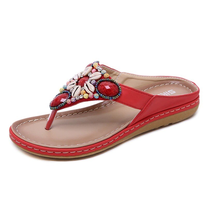 Premium Bohemia Flip Flops Women Sandals
